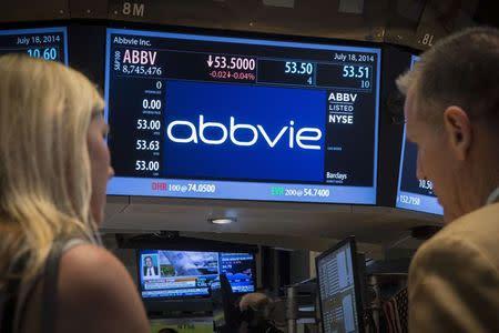 News post image: AbbVie Stock Falls 4%