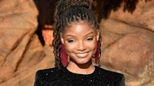 Halle Bailey Has Amazing Reaction To People Hating On Her 'Little Mermaid' Casting