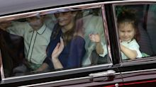 Prince Edward and Countess of Wessex enjoy rare public day out with their two children
