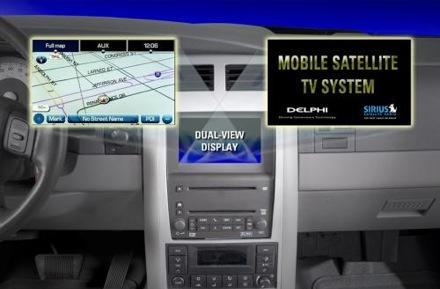 Delphi shows off dual-view nav systems at CES