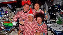 Weihnachtsgrüße aus dem All: So feiert die Raumstation ISS