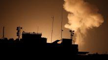 Palestinian rocket fire draws Israeli air strikes in Gaza