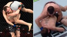 UFC fighter's embarrassing self-defeating KO slam