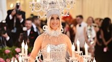 Katy Perry lights up the Met Gala 2019 red carpet dressed as a chandelier