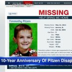 Tuesday marks 10 years since disappearance of Timmothy Pitzen