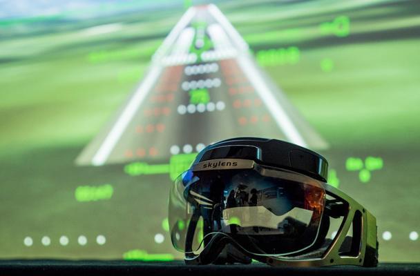Skylens heads-up display helps pilots 'see' through the fog