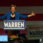 Warren congratulates Sanders on NV, hits Bloomberg