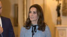 Kate Middleton ya tiene tres meses de embarazo pero aún no se le nota la pancita; mírala