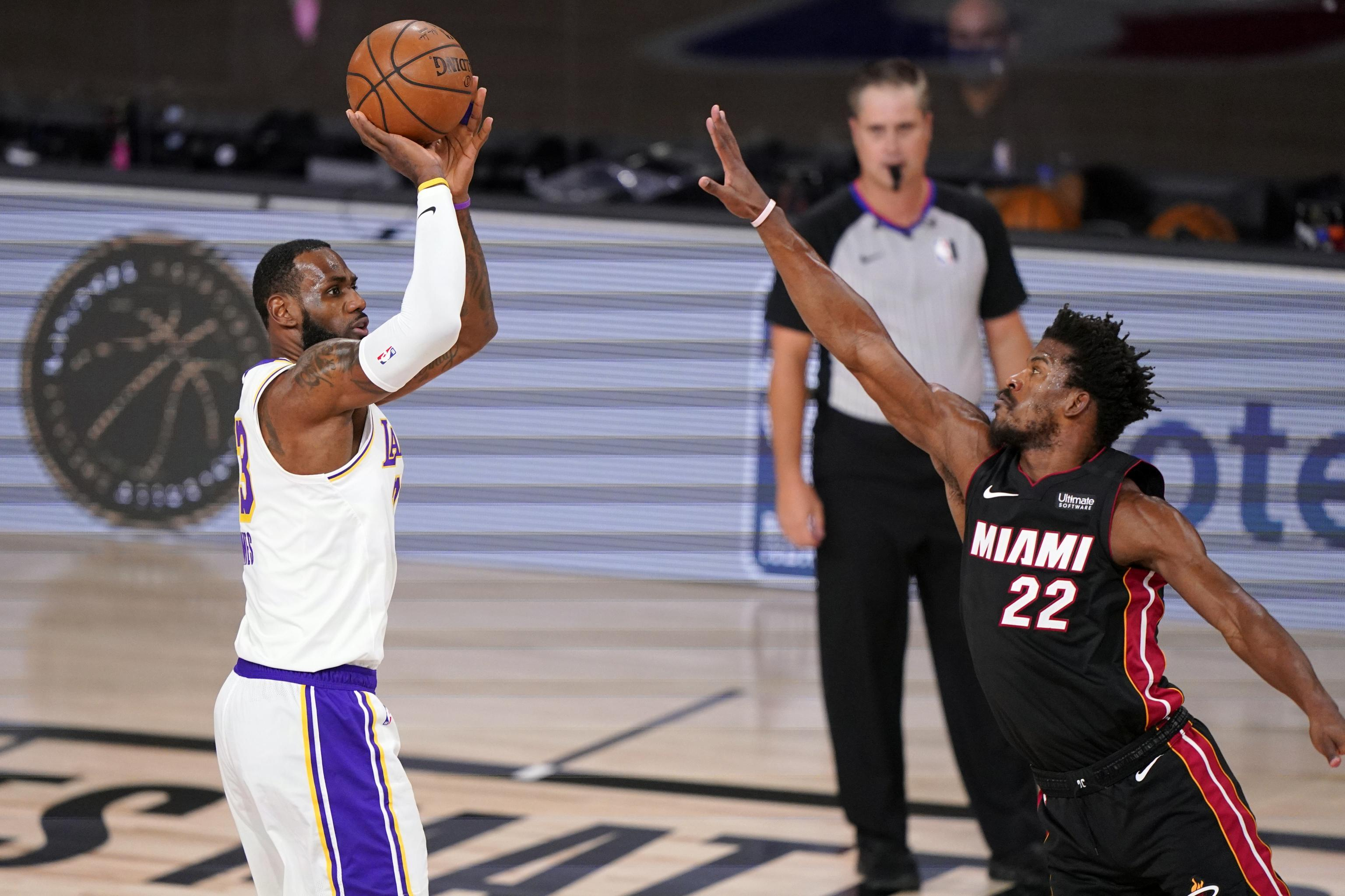 NBA Finals 2020: LeBron James, Jimmy Butler and Most ...