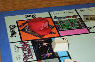 The old-school gamer's Monopoly board