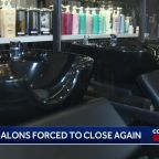 Hair salons, barbershops in 29 CA counties forced to close -- again