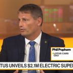 Lotus Unveils $2.1M Electric Supercar