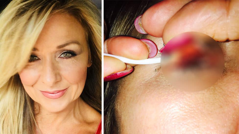 Image result for Theresa Lynch eyes mascara