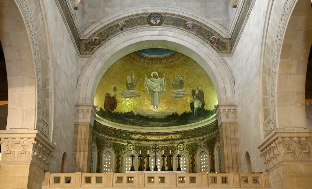 Christian officials said chalices were stolen from the Church of the Transfiguration on Mount Tabor, in Israel's Lower Galilee (AFP Photo/Jack Guez)