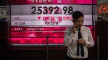 El Hang Seng cierra a la baja tras los malos resultados del banco HSBC