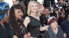 Cate Blanchett y Kristen Stewart, entre las 82 mujeres que protestaron en la alfombra roja de Cannes