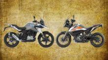 KTM 390 Adventure vs BMW G310 GS: The Off-Road Bike Battle