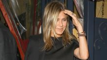 Jennifer Aniston Joins Sandra Bullock and Bryan Randall for Dinner -- See the Pics!