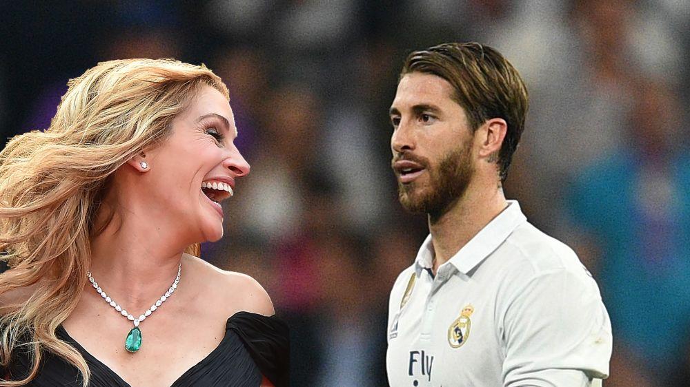 """Ramos espulso nel Clasico, gaffe della Roberts: """"Hai giocato benissimo"""""""