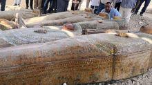 Penemuan Terbesar dan Terpenting, 20 Peti Mati Kuno di Mesir