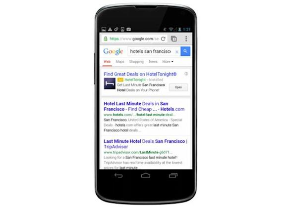 Google's new mobile ads help find apps that fit your daily habits