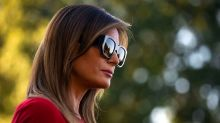 This photo of Melania Trump gardening is Twitter's new favorite meme
