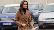 Kate Middleton takes a style cue from Meghan Markle for her latest appearance