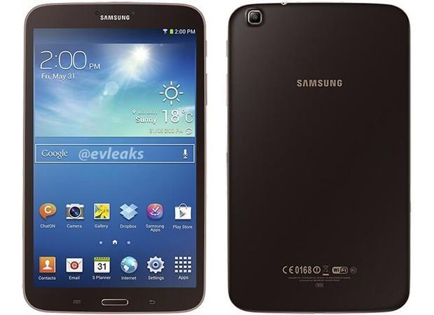 Samsung Galaxy Tab 3 7.0 and 8.0 spotted in golden brown hues