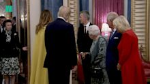 Did the Queen just tell Princess Anne off?