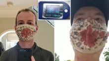 Coronavirus: Doctor runs 35km in face mask to dispel 'upsetting' myth