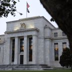 TREASURIES-Yields edge lower before Fed meeting