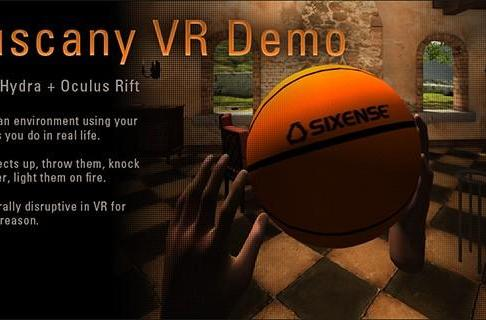 Oculus Rift's Tuscany demo scores unofficial support for Razer Hydra (video)