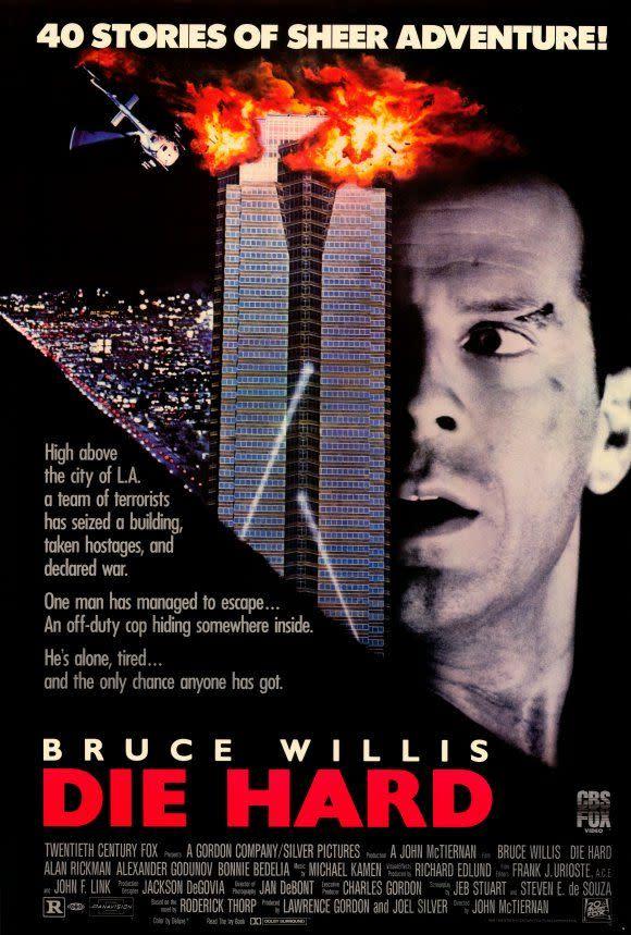 die hard slightly more christmassy than white christmas says writer - Bruce Willis Christmas Movie