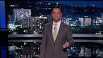 Jimmy Kimmel Mocks L.A. News Anchors` Quake Reactions