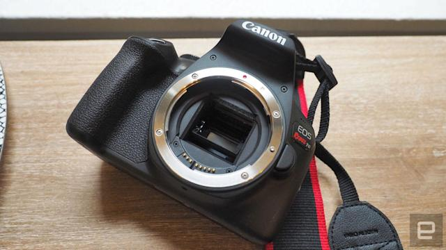 Canon's new entry-level DSLR is good enough for its target audience