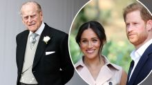 Prince Philip 'disappointed' by Meghan and Harry's royal move