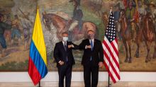 Pompeo hails Colombia's stance on Maduro, pledges more help in drugs fight