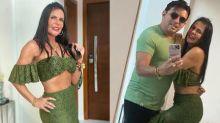 Gretchen rebate críticas por 18º casamento: 'Tem gente que fica com 18 numa noite'