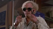 Christopher Lloyd is up for Back To The Future 4