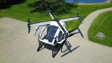 Reinventing the helicopter with an eight-propeller machine