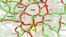 Grève des transports et pluie, en Île-de-France les bouchons explosent