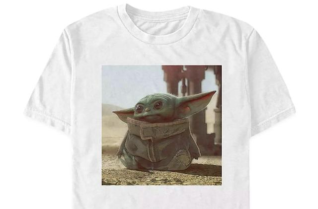Disney cashes in on baby Yoda with crude online merch