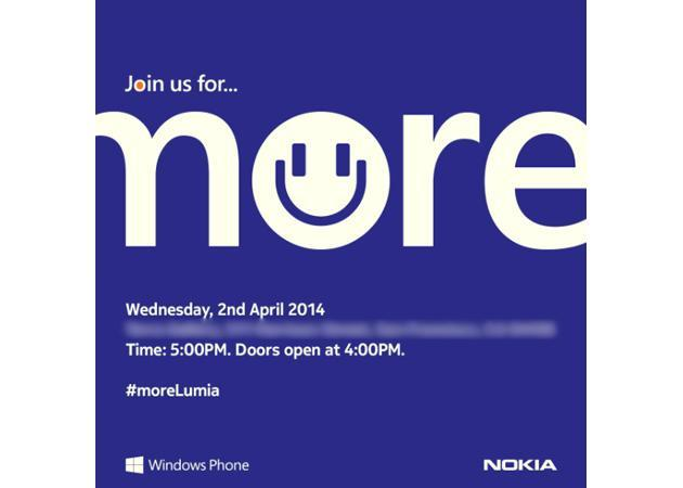 Nokia promises 'more Lumia' at April 2nd event