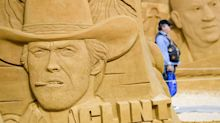 Sand Stars: Famous Faces Recreated In Stunning Beach Sculpture Festival