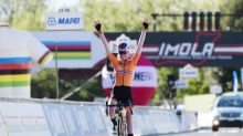 Cycling: Van der Breggen completes world championships double with road race title