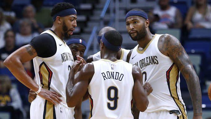 Report: Lakers signing DeMarcus Cousins, Rajon Rondo