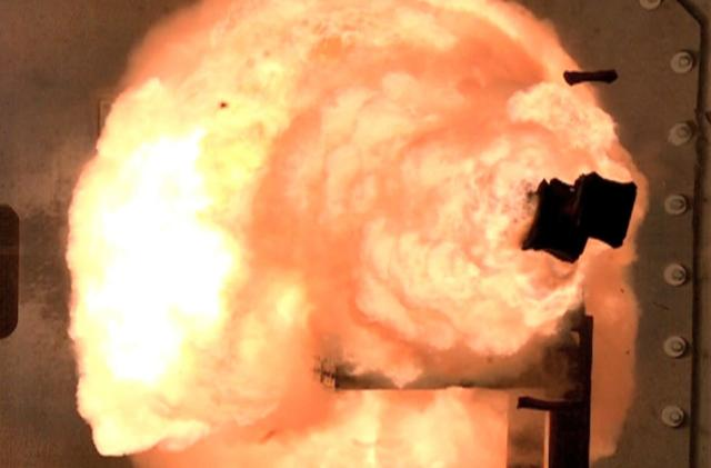 The Navy wants to deploy railguns on its latest destroyer
