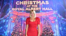 Holly Willoughby reveals incredible Christmas decorations in rare peek at her front door