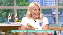 Holly Willoughby goes viral in Denmark thanks to This Morning's psychic banana