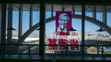 EARNINGS: YUM Brands knocked off highs as Pizza Hut, KFC face off with McDonald's, Walmart, Amazon